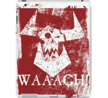 Ork Red Waaargh! iPad Case/Skin