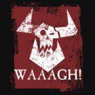 Ork Red Waaargh! by simonbreeze