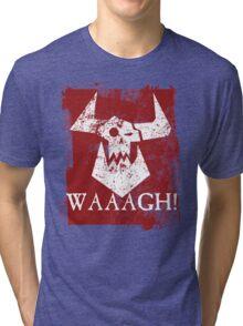 Ork Red Waaargh! Tri-blend T-Shirt