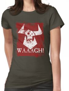 Ork Red Waaargh! Womens Fitted T-Shirt