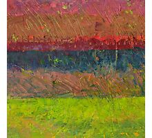 Abstract Landscape Series - Lake And Hills Photographic Print