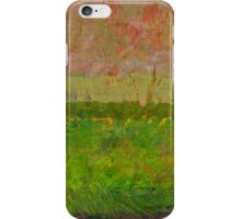Abstract Landscape Series - Summer Fields iPhone Case/Skin