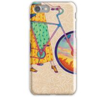 Bike tour iPhone Case/Skin