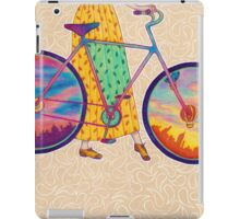 Bike tour iPad Case/Skin
