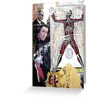 DE COMO SE FABRICAN LOS SANTOS (How to build saints) Greeting Card