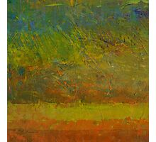 Abstract Landscape Series - Golden Dawn Photographic Print