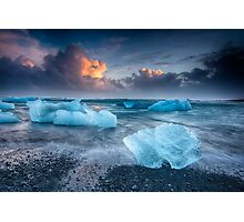 stranded Ice Photographic Print