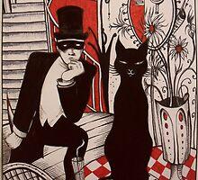 Murder At The Black Cat Bar by John D  JinnDoW