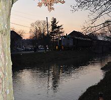 Metamora Sunset by threadworks