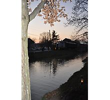 Metamora Sunset Photographic Print