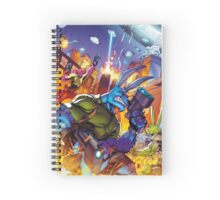 Salty Roos - Independence Day Invasion Spiral Notebook