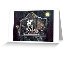 The Peculiar Club House Greeting Card