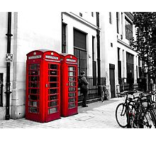 The Phone Box Photographic Print