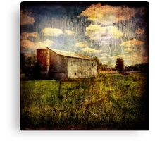 Raining Sky Canvas Print