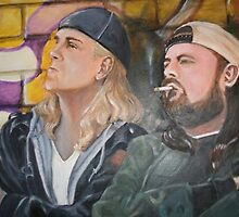 Jay and Silent Bob by StringbeanArt