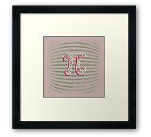 Artistic Pi Day Framed Print