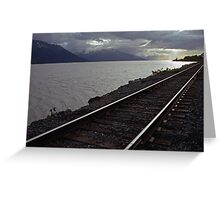 Alaska Rail Greeting Card