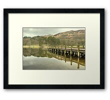 Coniston Jetty Framed Print