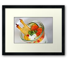 From Munich with Passion Framed Print