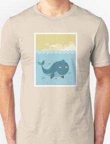 Whale at sea T-Shirt