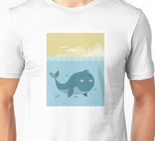 Whale at sea Unisex T-Shirt