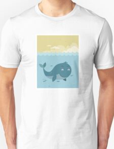 Whale at sea T-Shirt