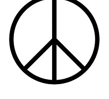 Ban the Bomb, Peace, Old school, original, symbol, CND, Campaign for Nuclear Disarmament by TOM HILL - Designer