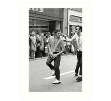 Dancing in the streets, 1976 Art Print