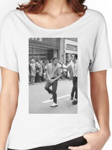 Dancing in the streets, 1976 Women's Relaxed Fit T-Shirt