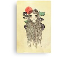 Little Kinoko Canvas Print