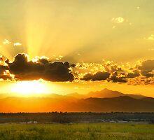 God's Sunset III by John  De Bord Photography