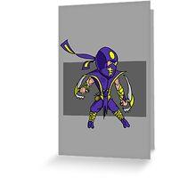 Magic vs. Zombies: The Rogue Greeting Card