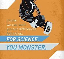 For Science. You Monster. by Minette Wasserman