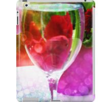 Flowers Through a Glass iPad Case/Skin