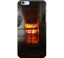 18th Century Farm House Fire iPhone Case/Skin