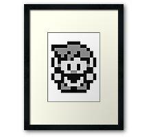 Pokemon Trainer Blue (Generation 1 Red/Green/Blue) Framed Print