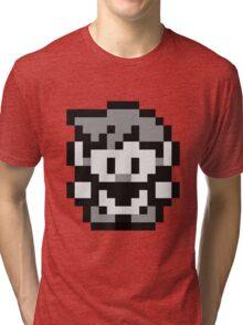 Pokemon Trainer Blue (Generation 1 Red/Green/Blue) Tri-blend T-Shirt