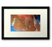 Car Wash 2 Framed Print