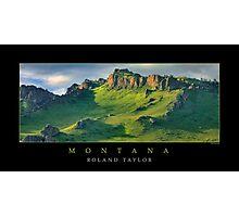 Cascade, Montana, ©2010 Roland Taylor Photographic Print