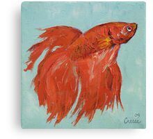 Siamese Fighting Fish Canvas Print