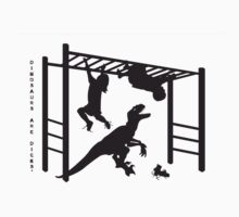 Dinosaurs are dicks. (Monkey Bars) by evilcheez