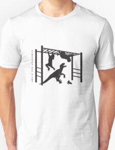 Dinosaurs are dicks. (Monkey Bars) T-Shirt