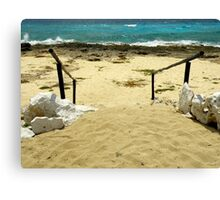 Unspoiled Beach ~ Part Three Canvas Print