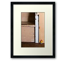 Lost in the Big World Framed Print