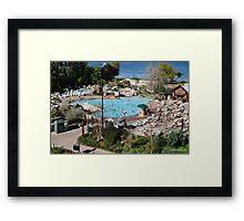 Wilderness Lodge Pool Framed Print