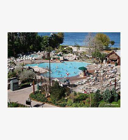 Wilderness Lodge Pool Photographic Print