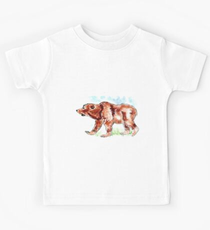 Brown Bear Kids Tee