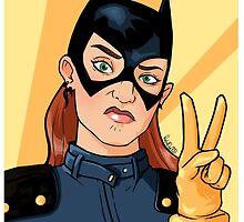 Batgirl Selfie by RabidDog008