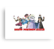 Pokemon - hoenn league Canvas Print