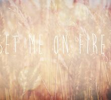 Set Me On Fire by Denise Abé